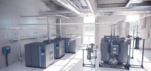 tecnicas determinar cantidad aire en compresor de aire