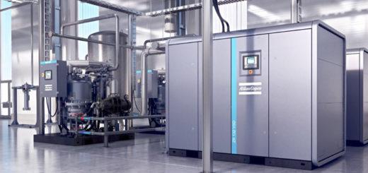 tipos de compresor de aire industrial