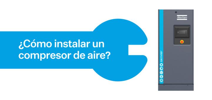 A5 Instalar Compresor Aire Comprimido Atlas Copco MR Peru